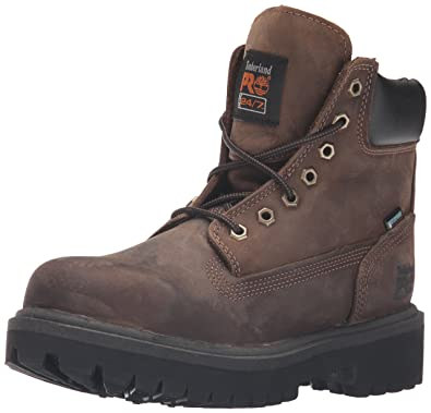 Timberland PRO Men's 38021 Direct Attach 6 Steel Toe Boot