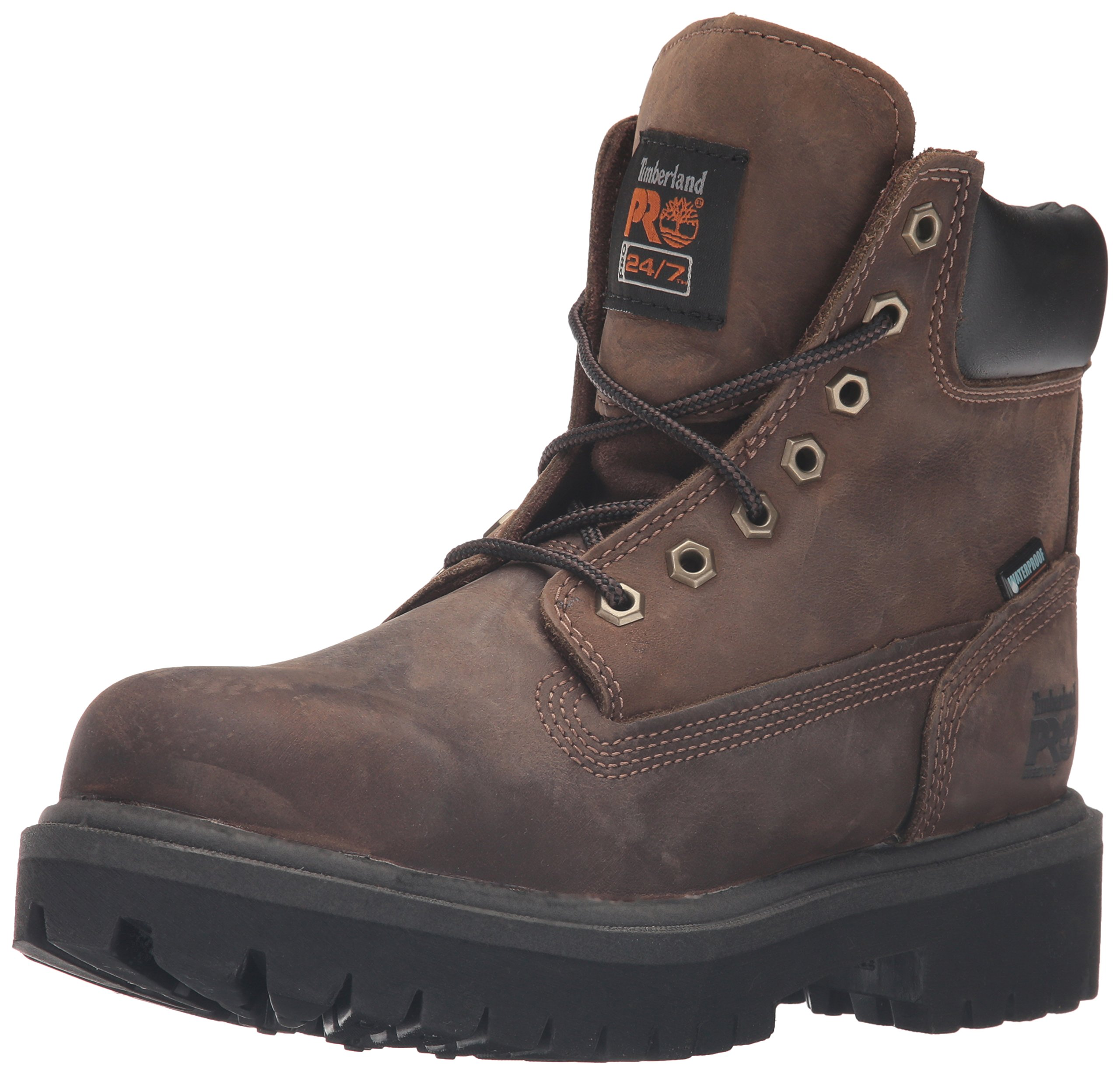Timberland PRO Men's 38021 Direct Attach 6'' Steel-Toe Boot,Brown,9 W
