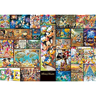 Tenyo Collection Art Mickey Mouse Gyutto Size Series Jigsaw Puzzle (2000 Piece): Toys & Games