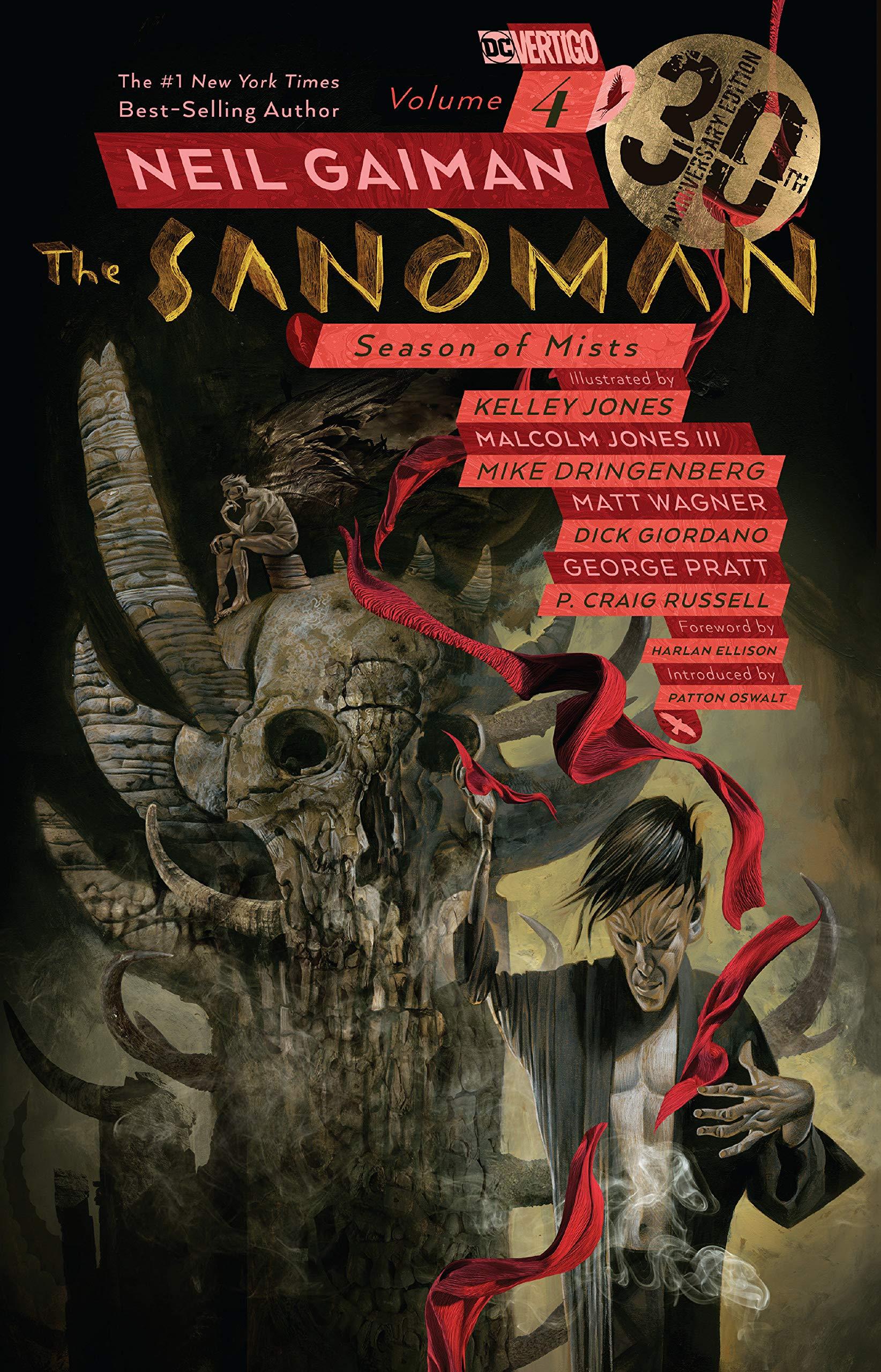 The Sandman Vol. 4  Season Of Mists 30th Anniversary Edition