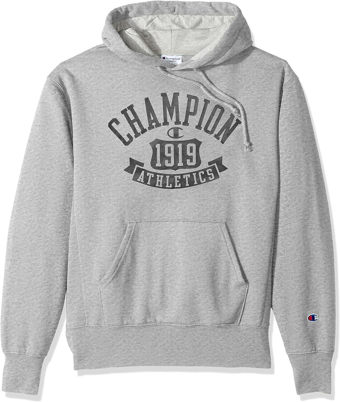 TALLA L. Champion Mens Heritage Fleece Pullover Hood (S1231 549520)
