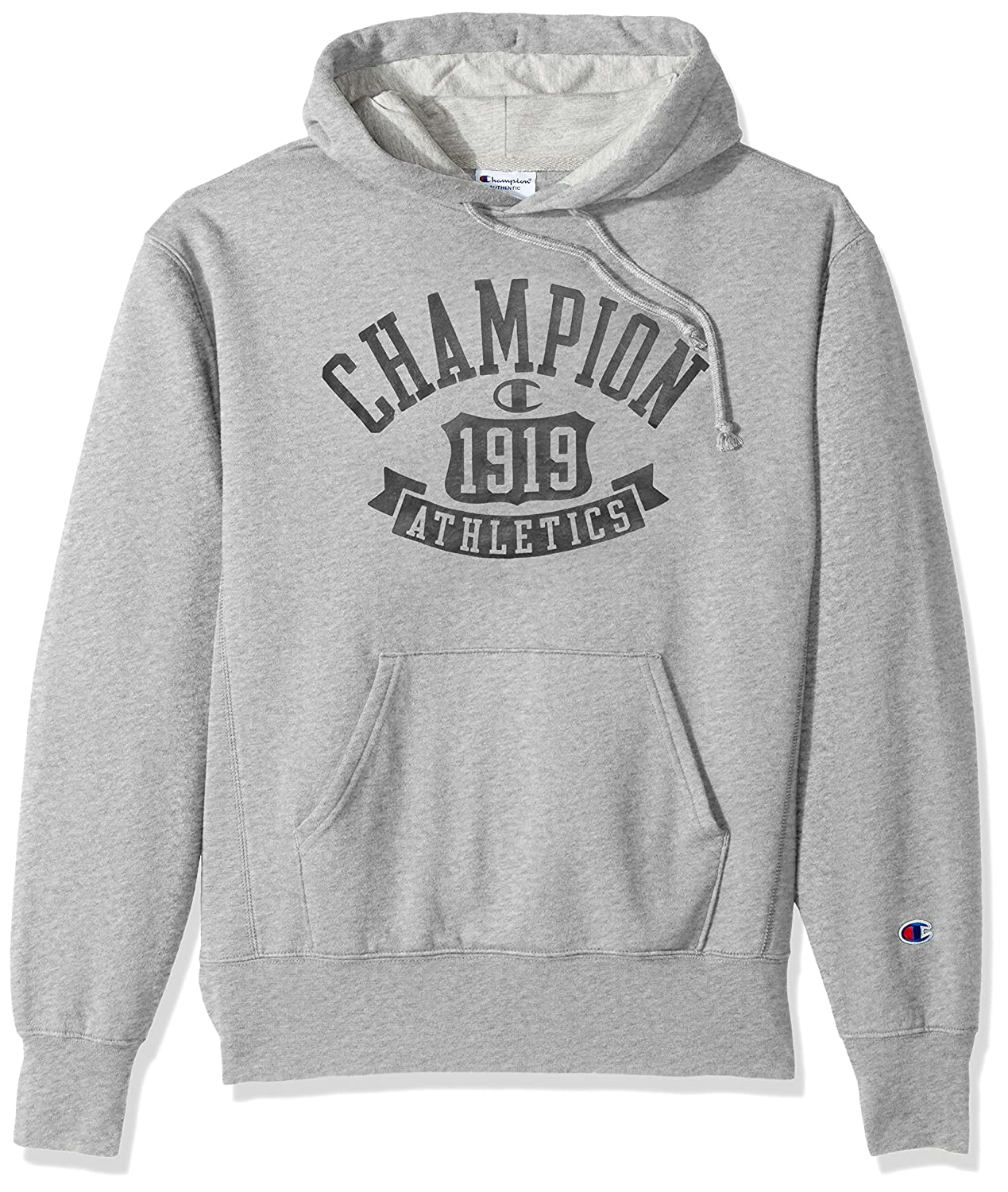 TALLA XL. Champion Mens Heritage Fleece Pullover Hood (S1231 549520)