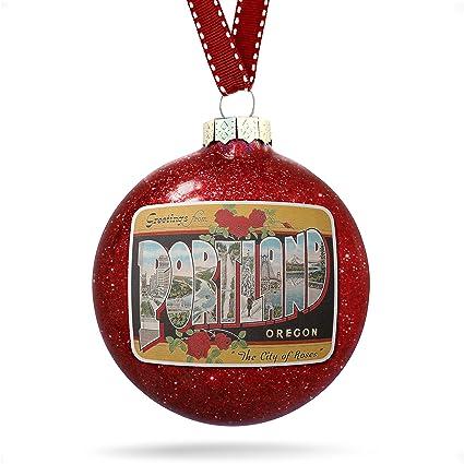 Christmas Decoration Portland Vintage Ornament - Amazon.com: Christmas Decoration Portland Vintage Ornament: Home