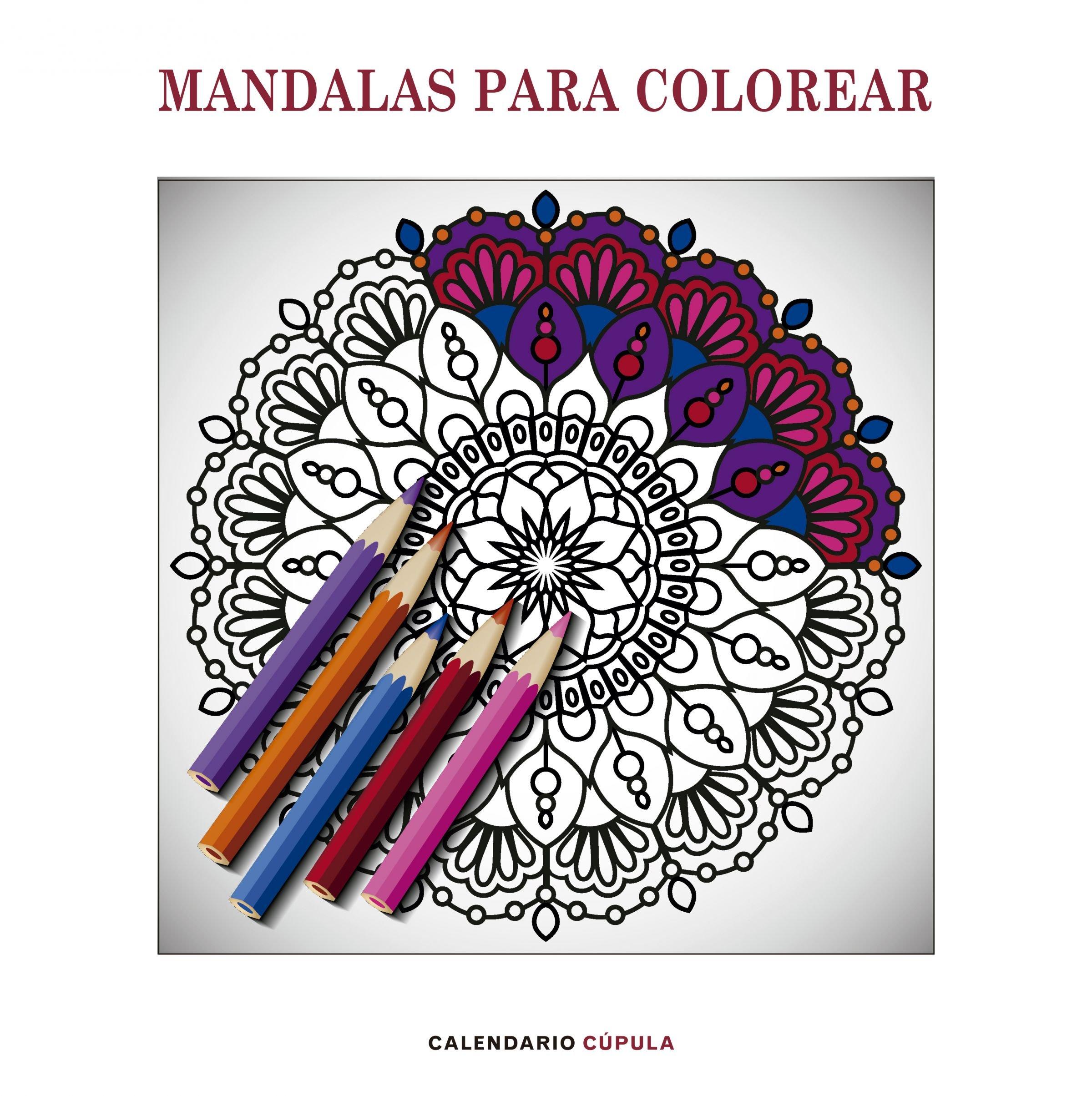 Calendario Mandalas para colorear 2019 Calendarios y agendas ...