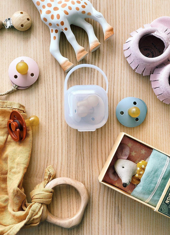 purifyou Premium Nipple Shield Transparent, 24mm entwickelt f/ür Komfort im Mund des Babys BPA- und BPS-frei ungiftig