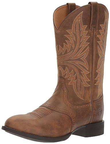 Ariat Men's Heritage Hackamore Western Cowboy Boot, Tawny, ...