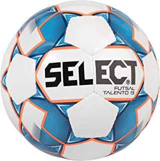 Select Talento Ballon de Futsal Adulte Unisexe, White/Blue, 57.0-59.0 cm
