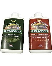Renovo Dual Kit Limpieza REN KIT11 Incluye Vinilo Limpiador de Horno, 500 ml