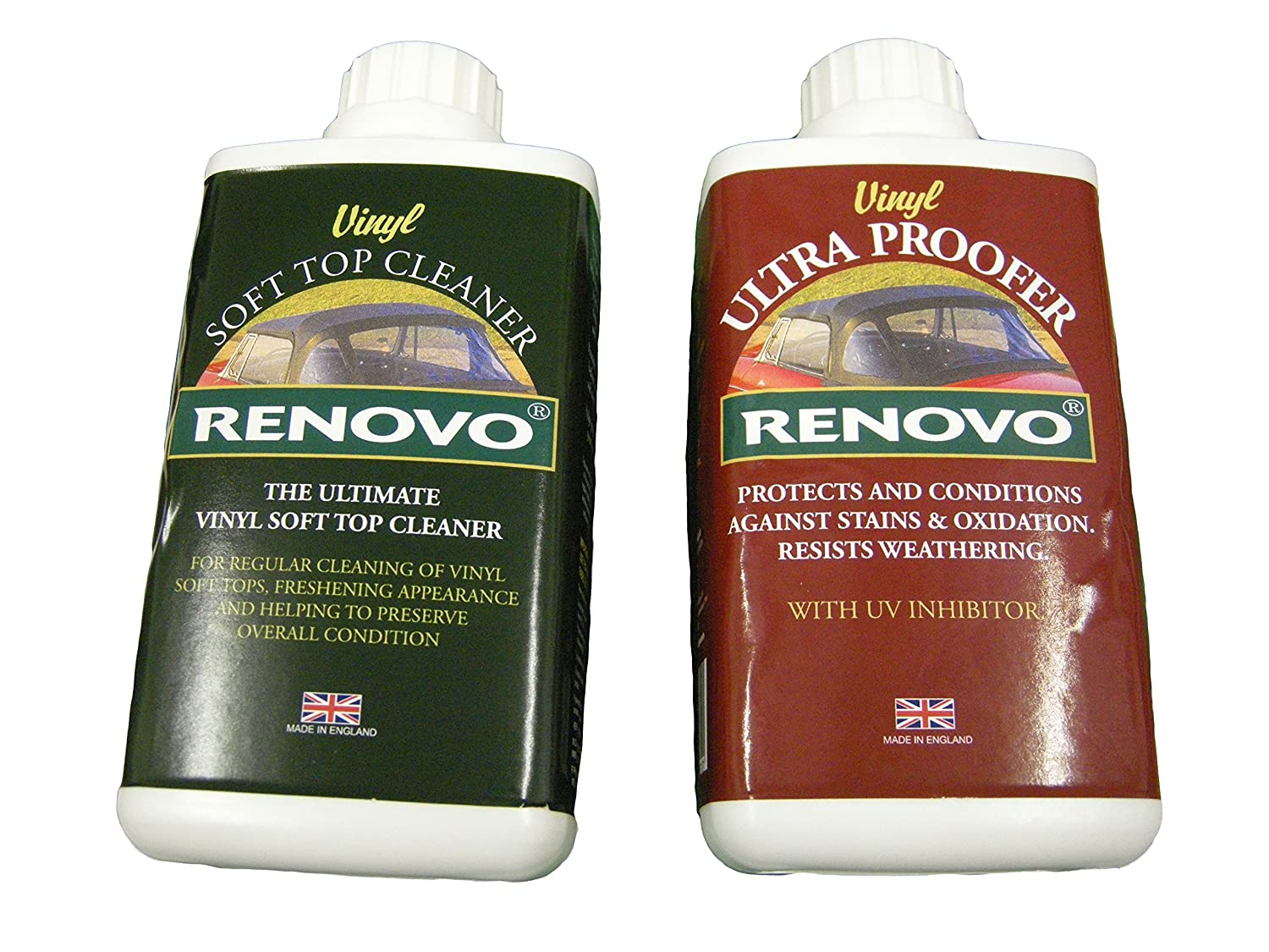 Renovo REN-KIT11 Double Cleaning Kit includes Vinyl Cleaner and Proofer, 500 ml Renovo International