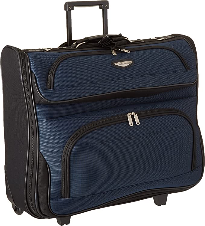 Amsterdam Business Rolling Garment Bag with Protective Foam