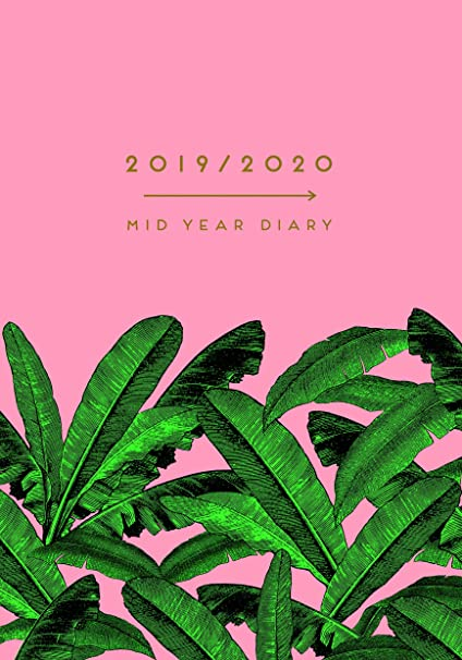 Hardback A5 Gold Flamingo 2020 Day a Page Diary Brand New New Arrivals
