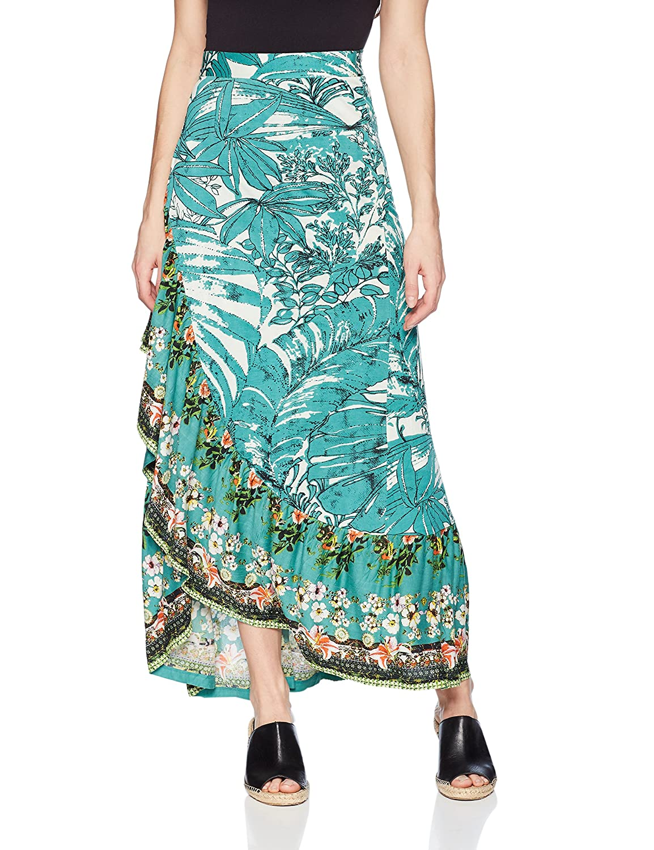Desigual - Falda - para Mujer Verde S: Amazon.es: Ropa y accesorios