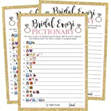 25 emoji pictionary bridal shower games ideas wedding shower bachelorette or engagement party for
