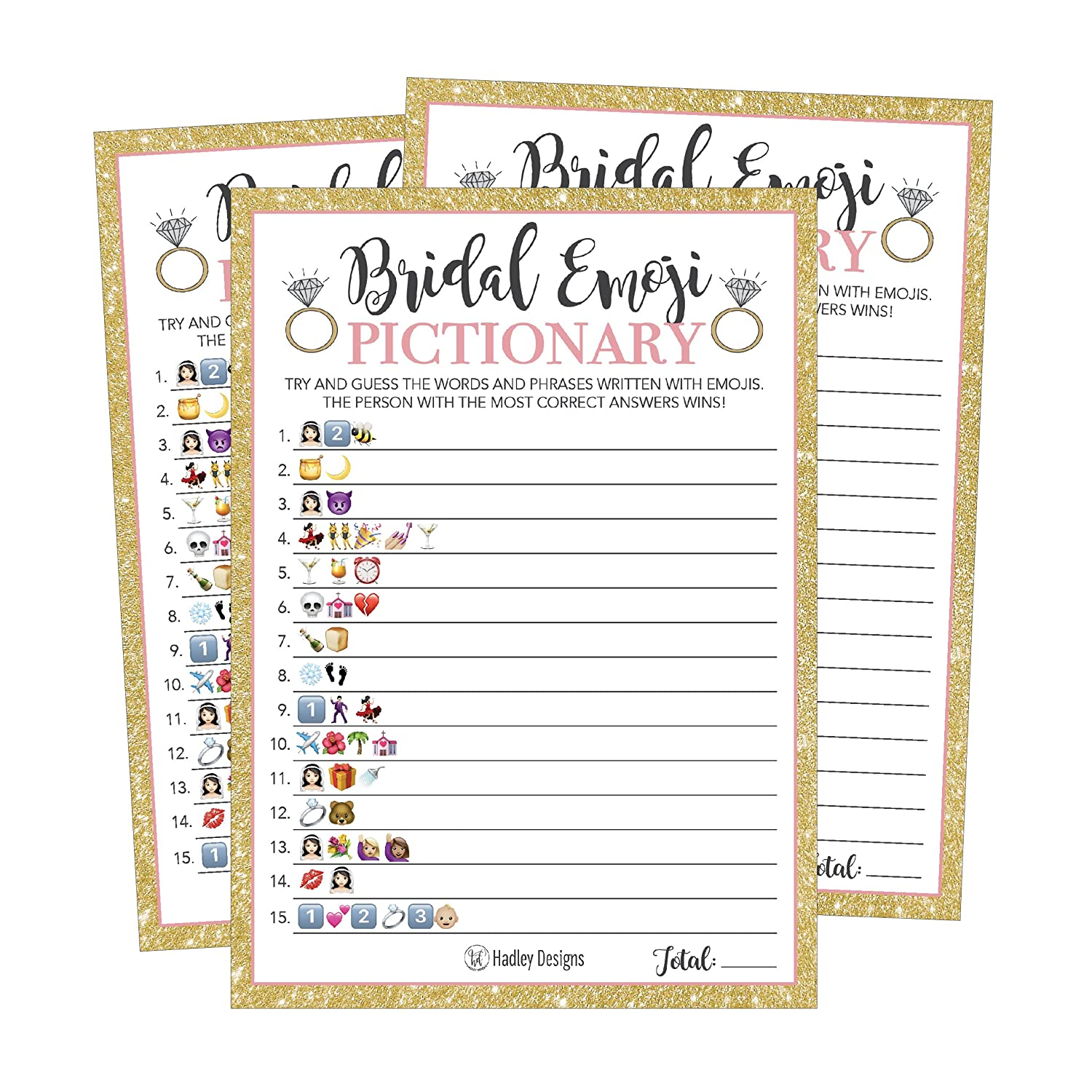 picture about Emoji Bridal Shower Game Free Printable named 25 Emoji Pictionary Bridal Shower Game titles Suggestions, Wedding day Shower, Bachelorette or Engagement Social gathering For Adult males and Females Partners, Adorable Amusing Board Package Deal