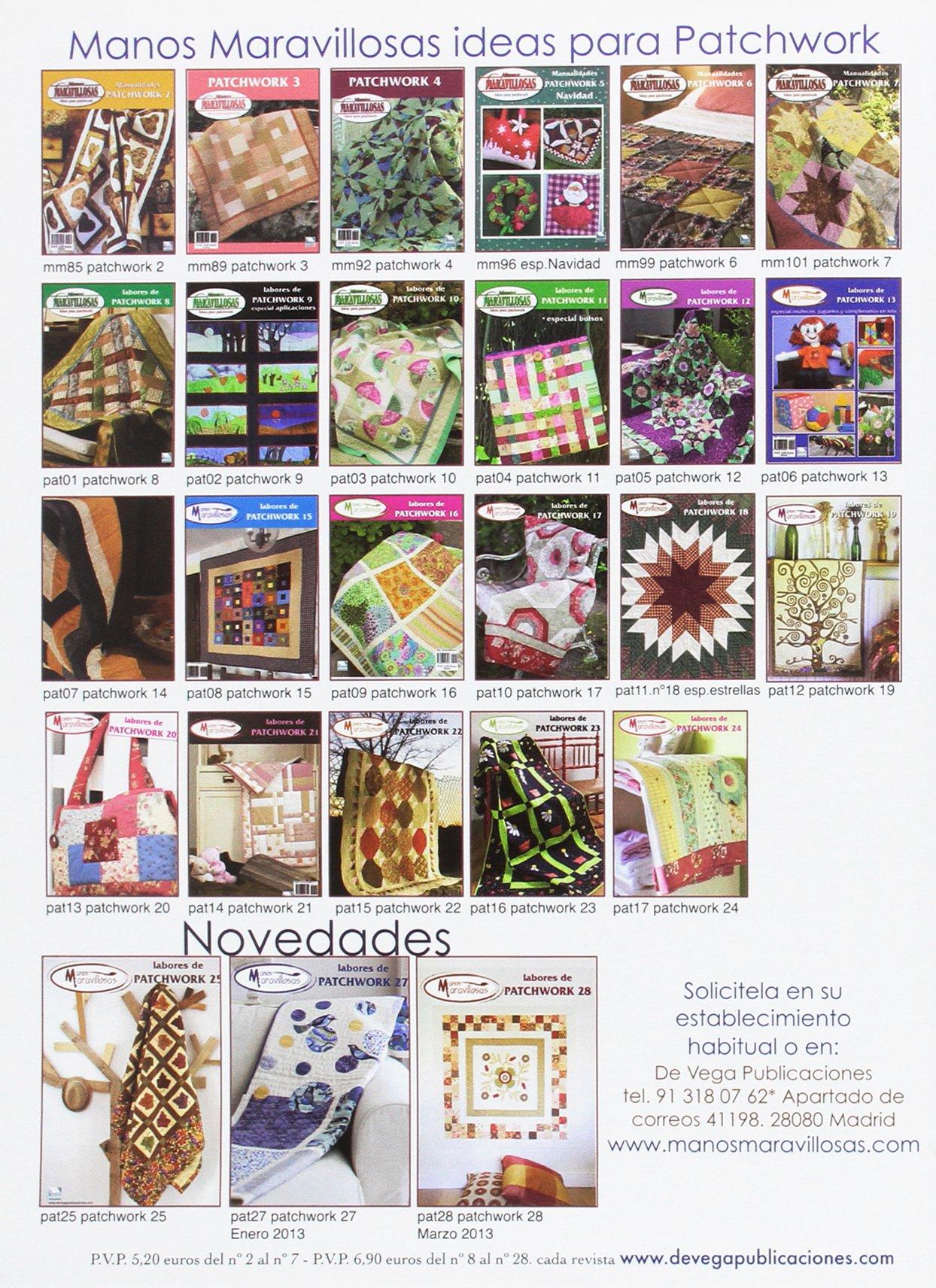 Amazon.com: LABORES DE PATCHWORK 26 (9788496558380): AAVV: Books