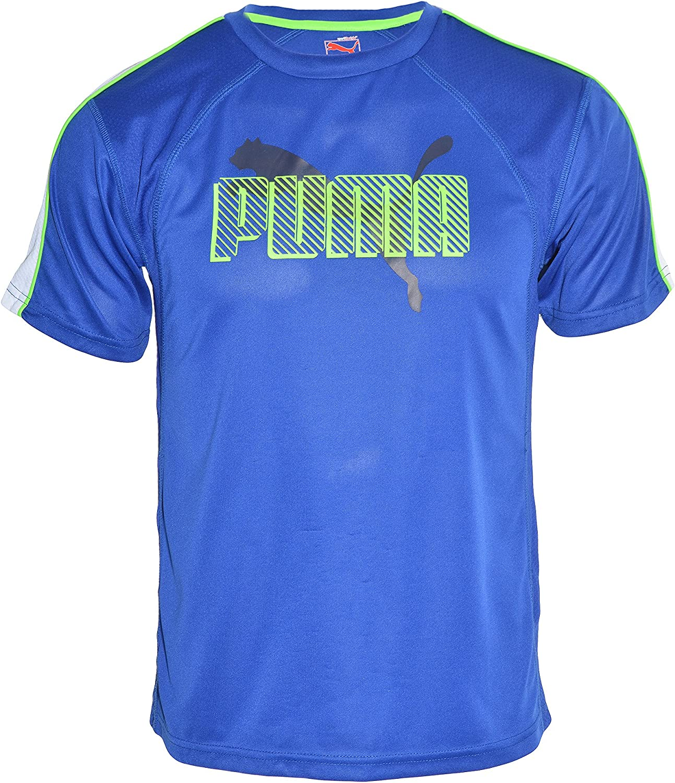 PUMA Boys Climate Control Wicking Short Sleeve T-Shirt