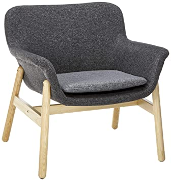 IKEA 403.424.88 Chair, Gunnared Dark Gray 1028.14814.3434, Grey