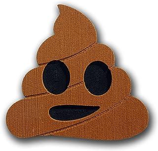 Toejamr snowboard Stomp Pad–Poo Emoji–marrone