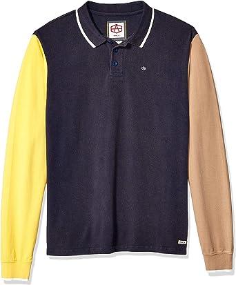 RVCA Hombre M955SRCP Manga Larga Camisa Polo: Amazon.es: Ropa y accesorios