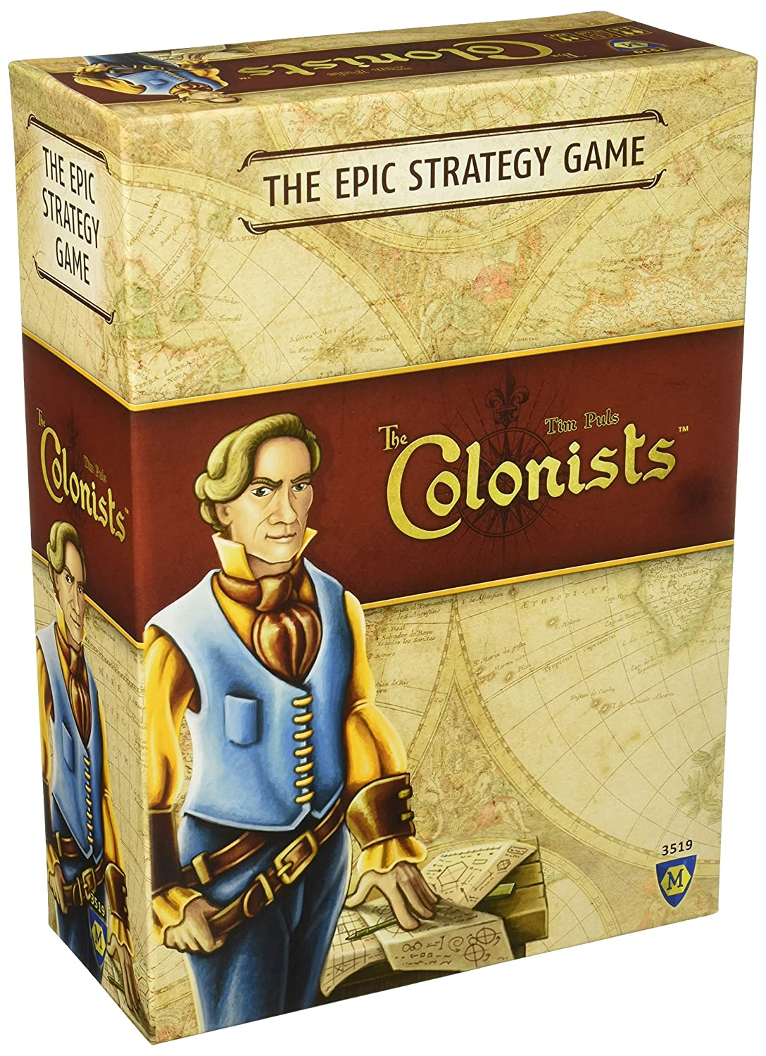 Mayfair Games MFG03519 Colonists Board Game