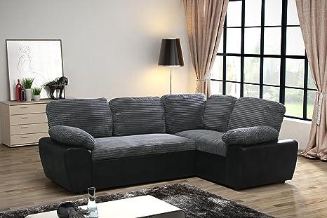 Lovesofas Enzo, divano letto matrimoniale ad angolo, in tessuto a ...