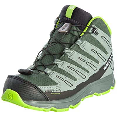 j enfant chaussures running mid cswp synapse vert gris Salomon trail 0wnOPk