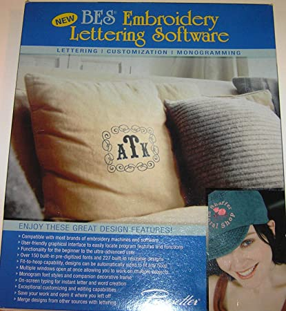 Amazon Brother Bes Embroidery Lettering Software