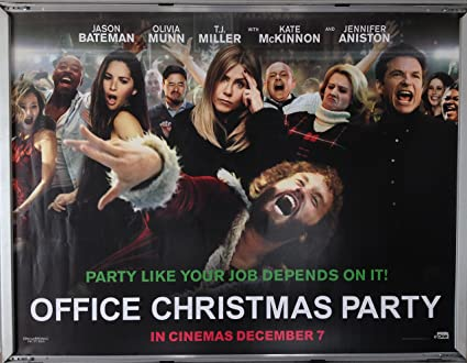 Office Christmas Party Jamie Chung.Cinema Poster Office Christmas Party 2016 Main Quad Kate