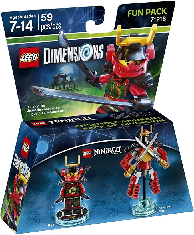 Ninjago Nya Fun Pack - LEGO Dimensions by Warner Home Video ...