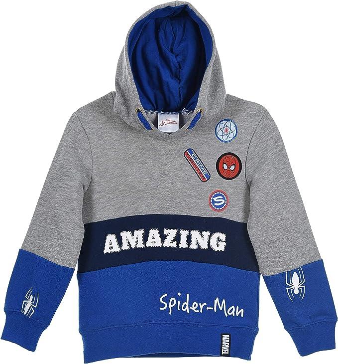 2-3 Years Marvel Comics Spiderman Hoodie Kids Childrens Sweatshirt Zip Jacket Jumper Hoody Top 4 Sizes
