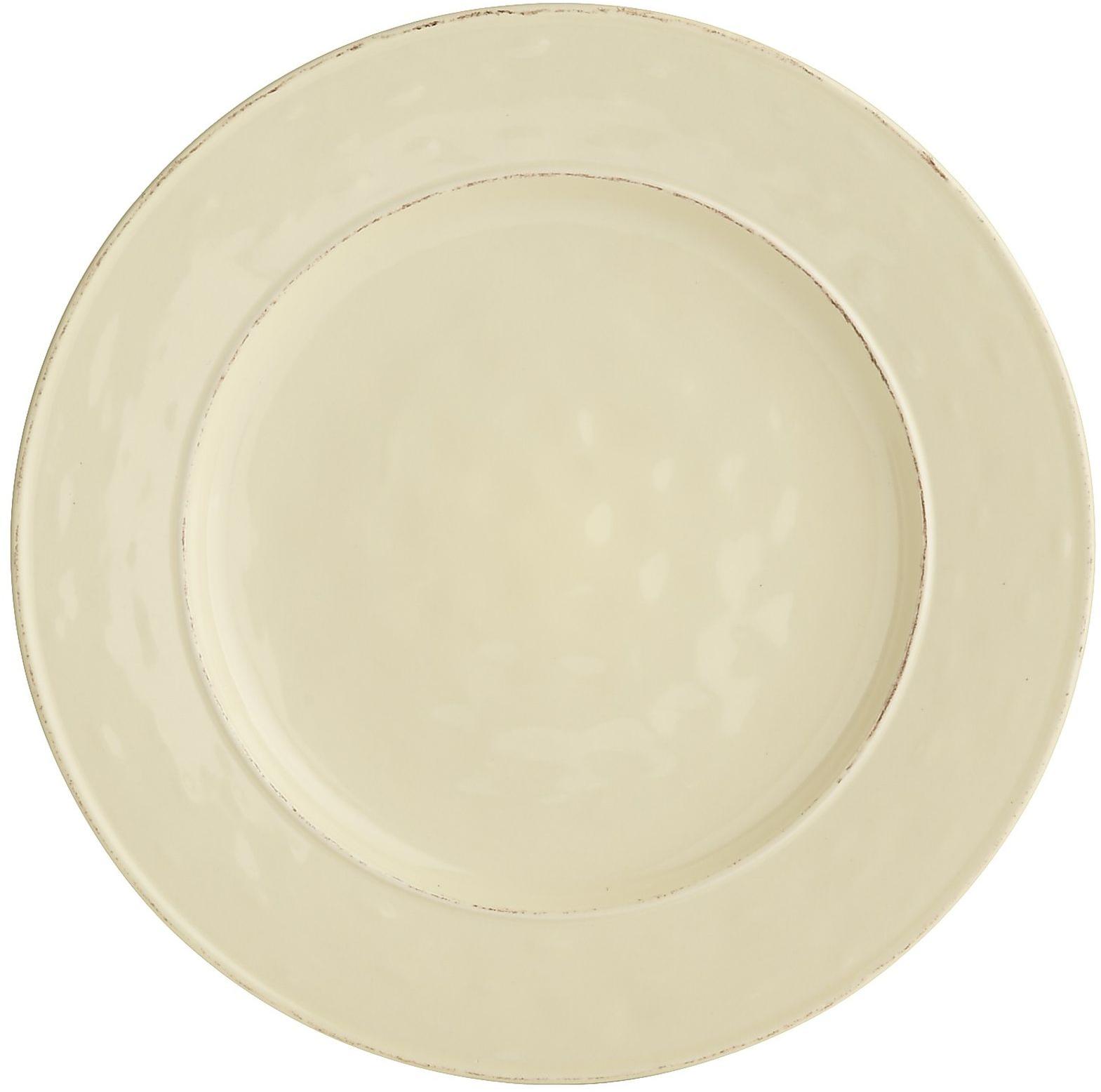 Martillo Dinner Plate - Cream | Pier 1 Imports