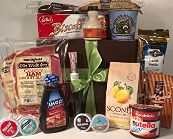 amazon com gourmet breakfast sampler gift box basket great gift