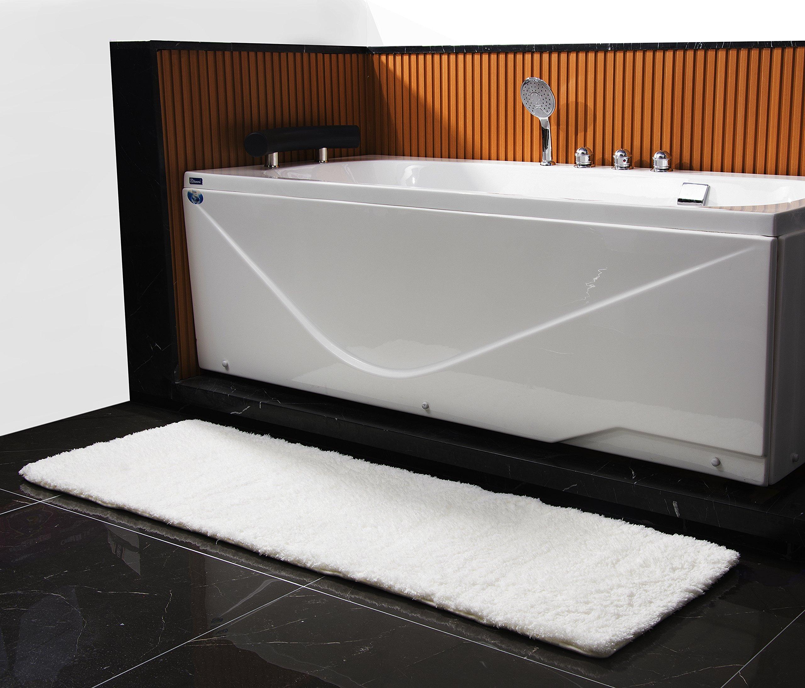 Microfiber Non-Slip Antibacterial Bath Mat
