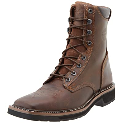 Justin Original Work Boots Men's Worker Two Safetytoe Work Boot: Shoes