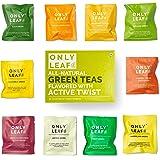 Onlyleaf Green Tea Sampler Box, 10 Tea Bags