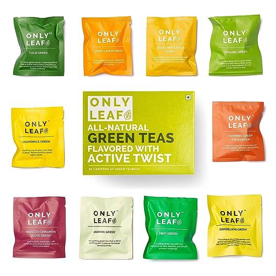 7897e0d19a8f Onlyleaf Green Tea Sampler Box