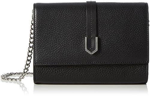 Womens Phila-m 10193730 01 Clutch Bag, Black (Black), One Size HUGO BOSS