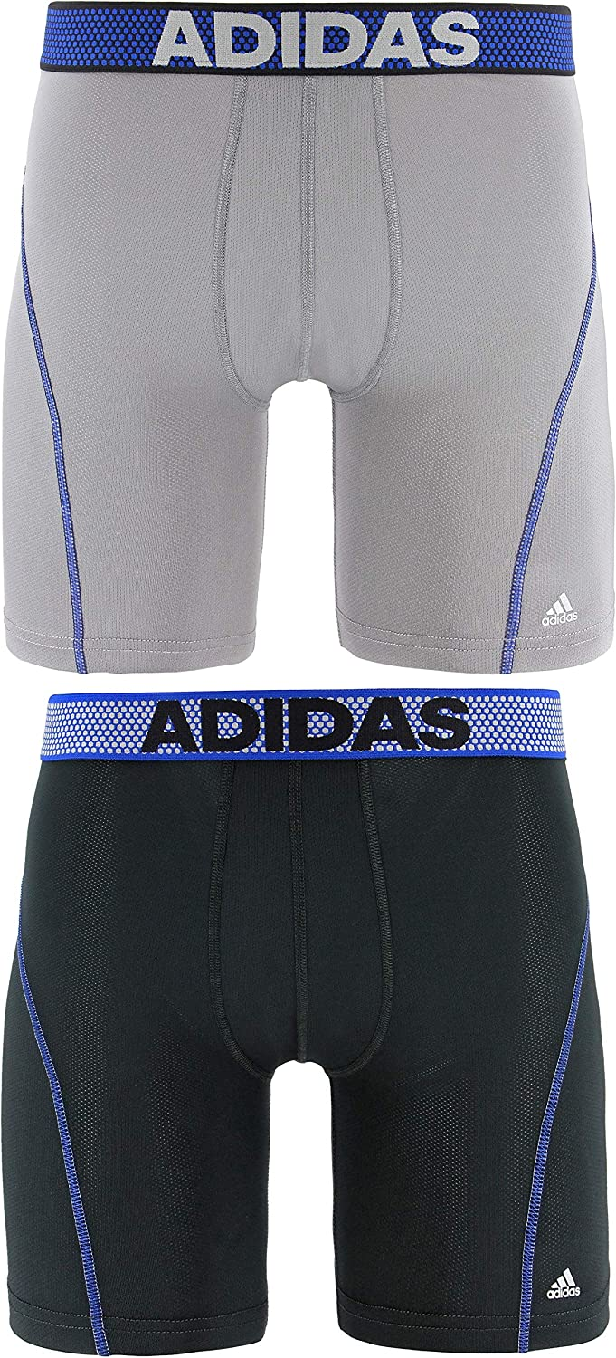 adidas Men's 9-Inch Sport Performance ClimaCool Midway Underwear (2-Pack)