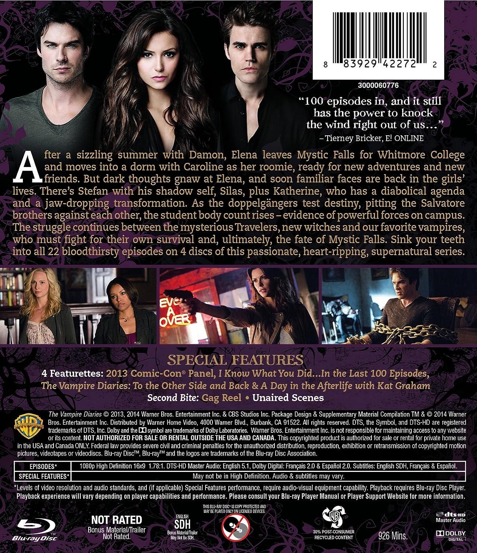 Amazon.com: The Vampire Diaries: Season 5 [Blu-ray]: Nina ...