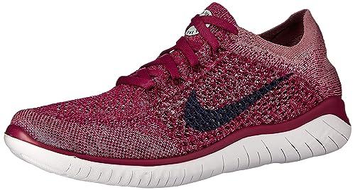 Nike Wmns Free RN Flyknit 2018, Zapatillas de Atletismo para