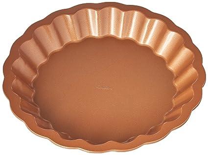 Amazon Com Wilton Decorative Crust Pie Pan Kitchen Dining