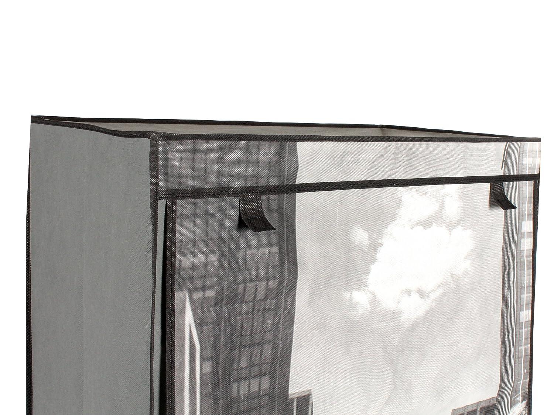 Stoffschrank Schuhschrank Motiv mit gelben Taxi New York 8 Fächer ...