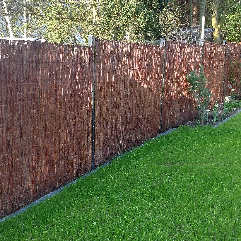 recinzione protettiva in 18/misure Frangivista in vimini Boogardi recinto per giardino balconi e terrazze