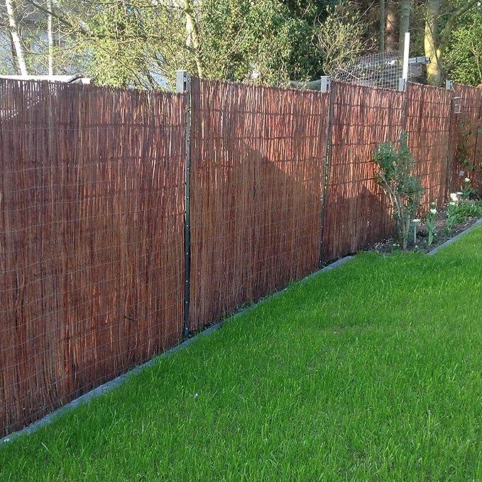 balconi e terrazze Frangivista in vimini recinzione protettiva in 18/misure Boogardi recinto per giardino