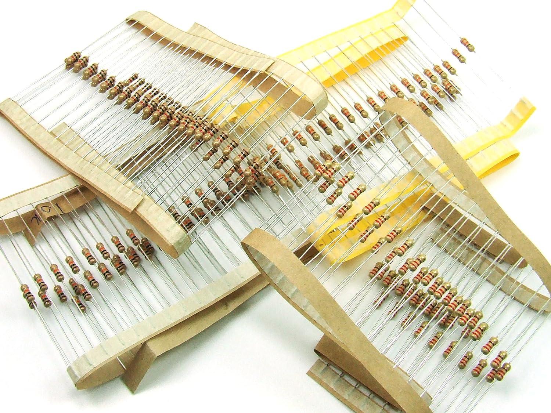 Pezzi/ pcs. 200 x Resistenze / Resistor SET 0.25W 4 x 50 pezzi/pcs. Resistenze(220 Ohm, 330 Ohm, 1K, 10K) #A760 Generic & Just-Honest WSET