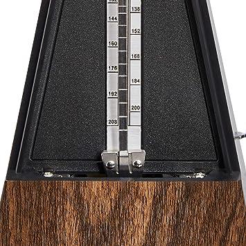 Copper Movement Basics Mechanical Metronome Teak