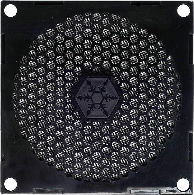 SilverStone SST-FF81 - Rejilla para ventilador de 80mm y filtro de ...