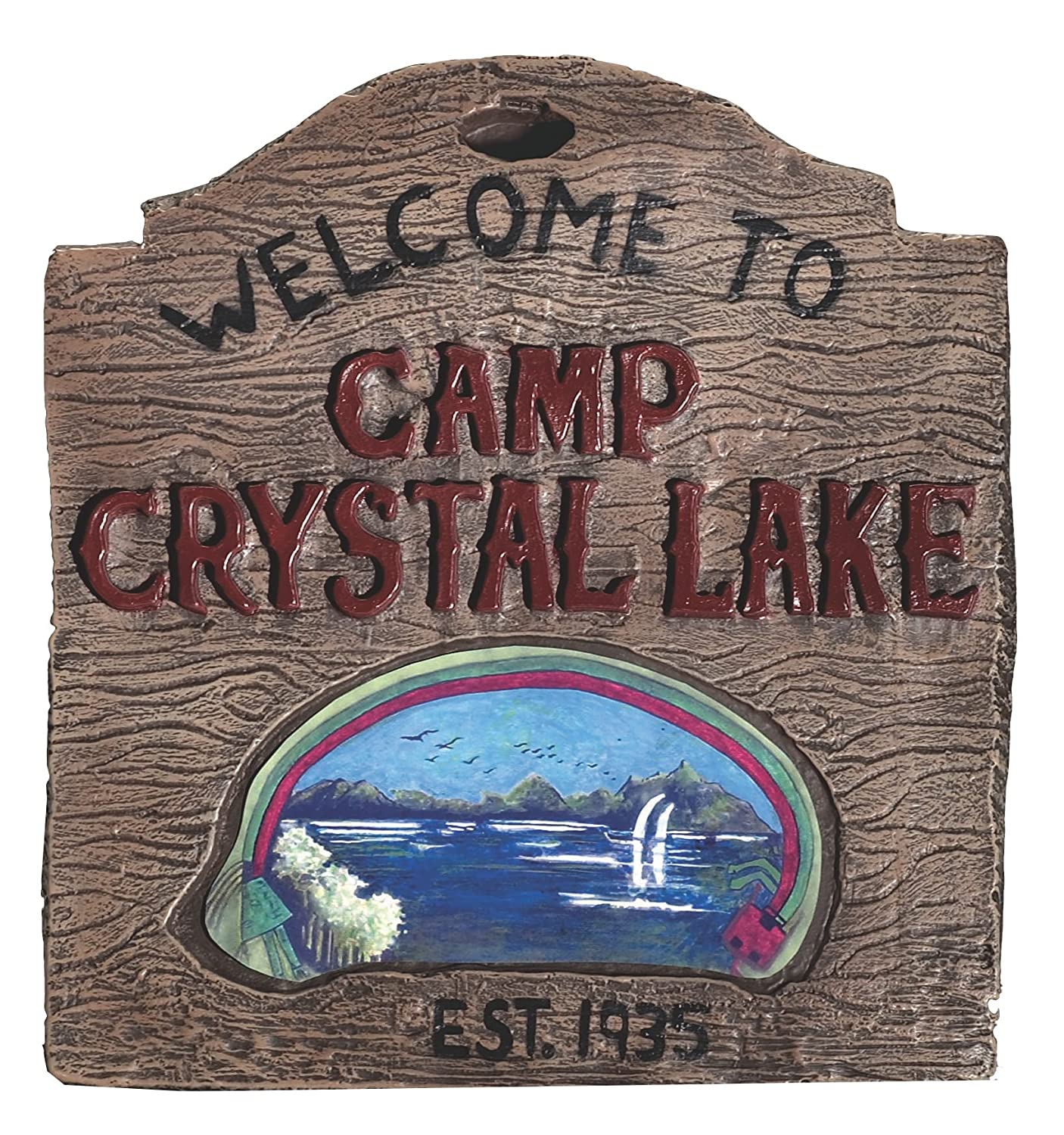 Rubie's Friday the 13th Camp Crystal Sign RUB794ACC