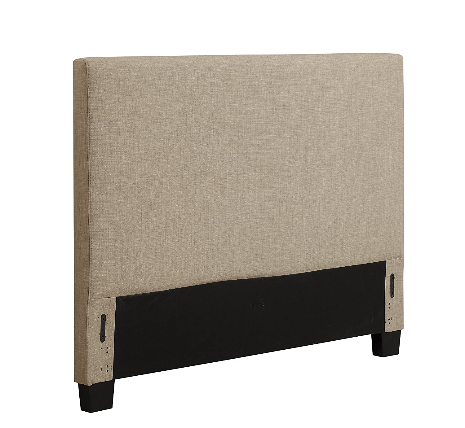 Amazon.com - Modus Furniture 3ZL7L5BH8 Saint Pierre Linen Headboard, Queen,  Espresso - - Amazon.com - Modus Furniture 3ZL7L5BH8 Saint Pierre Linen