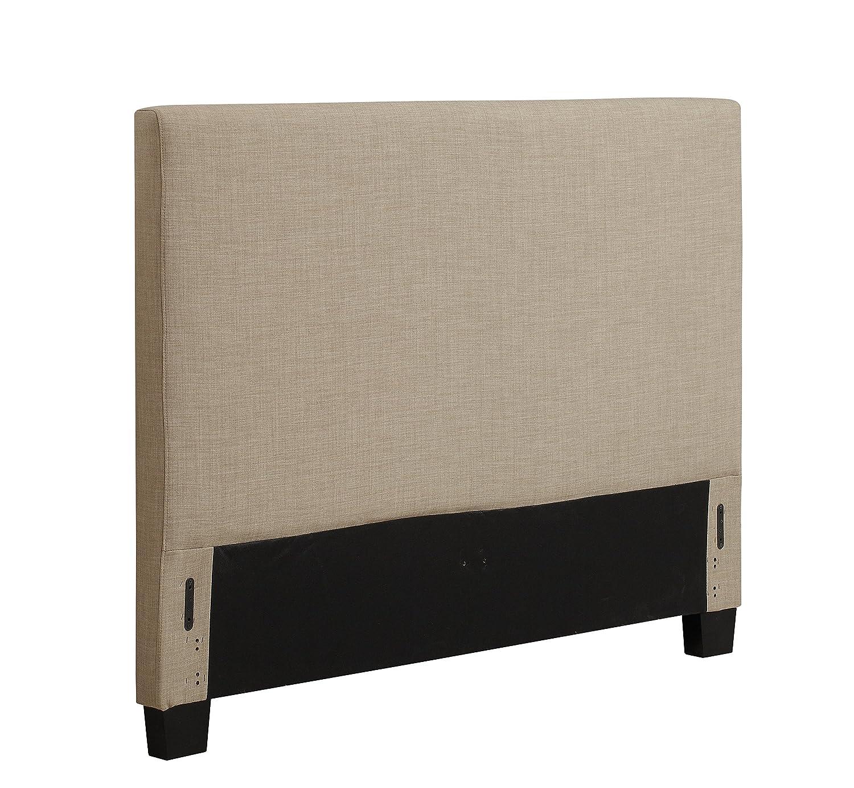 amazoncom  modus furniture zllbh saint pierre linen  - amazoncom  modus furniture zllbh saint pierre linen headboard queenespresso